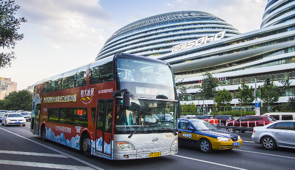 北京公交車身廣告