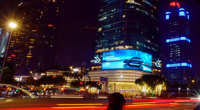 广州商圈LED大屏广告